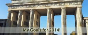 My Goals for 2014