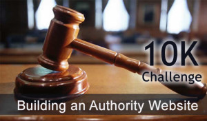 10K Challenge: Building an Authority Website